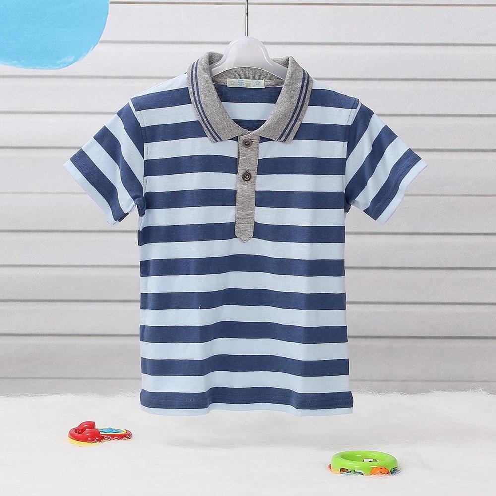 53a5c80fa LeJin Children Boys T Shirts Tops Boy Polo Shirt Short Sleeves ...