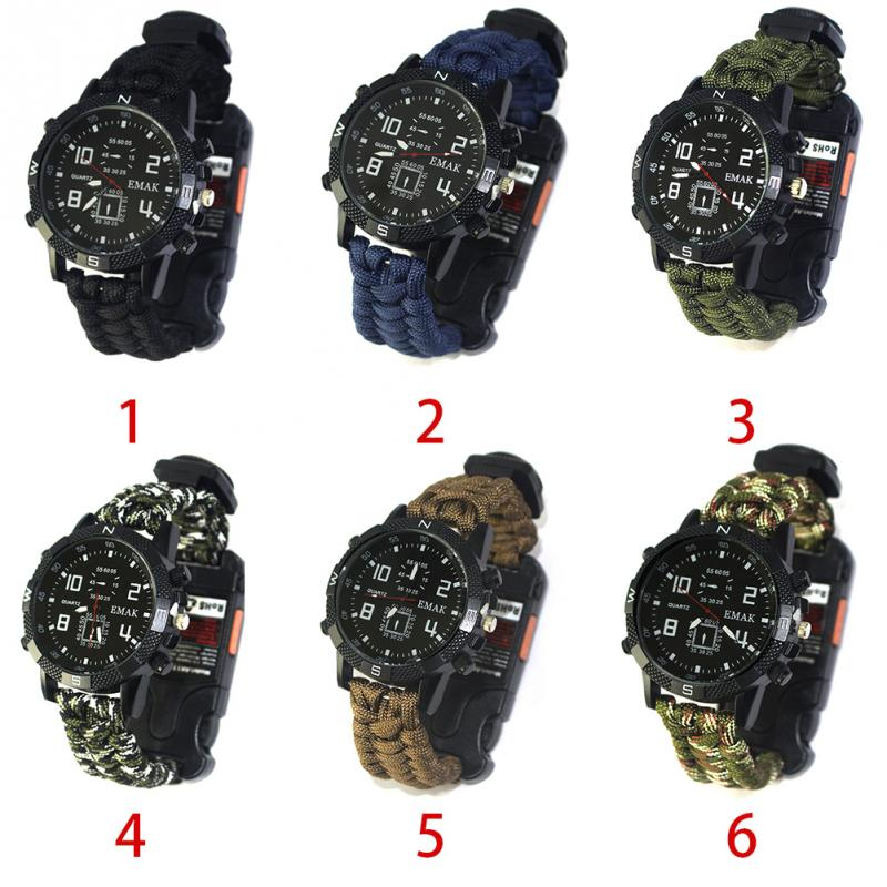 aeProduct.getSubject()  EDC Tactical multi Outside Tenting survival bracelet watch compass Rescue Rope paracord gear Instruments package HTB1NOFiFHGYBuNjy0Foxh7iBFXaa