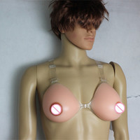 Free Shipping Cross Dressing Wholesale Sex Boobs Self Adhesive Silicone Breast 1200g E Cup Drop Shipping