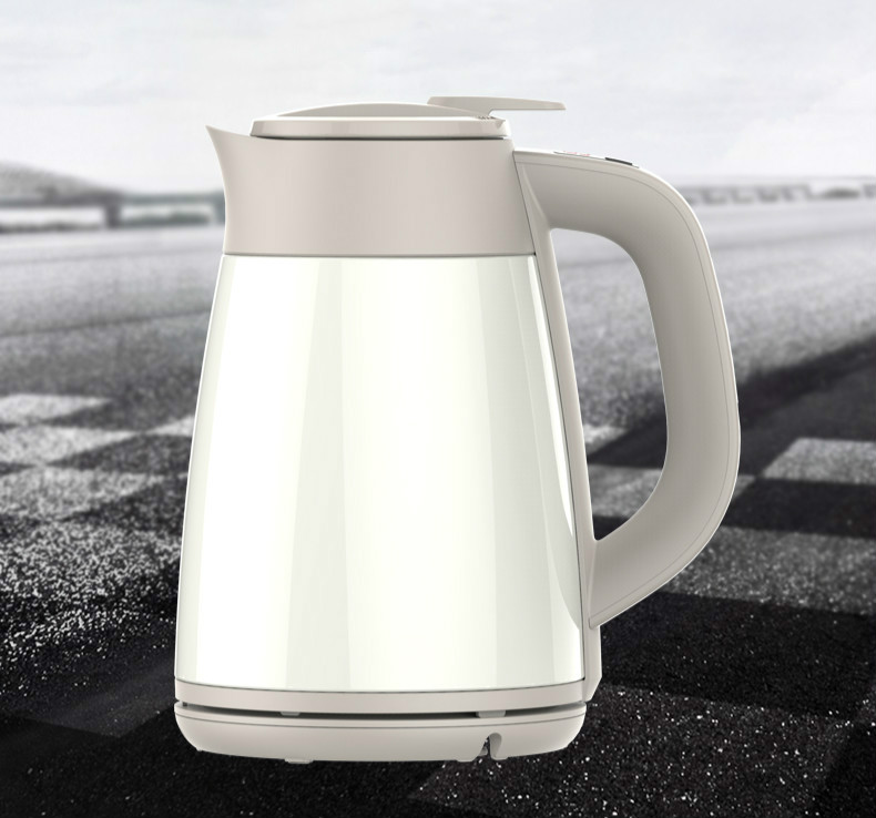 Electric kettle 304 stainless steel double vacuum insulated hot home Safety Auto-Off Function hot kettle double insulated electric stainless steel water heater electric kettles safety auto off function