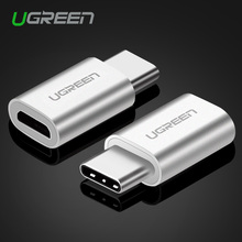 Ugreen Micro USB to USB C 3.1 Cable Adapter Type C Converter for Xiaomi 4C Lg G5 Nexus 5x 6p Oneplus2 Macbook Type C Adapter