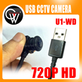 HD 720 P Grande Angular de 3.6mm/1.8mm lens/3.7mm/2.8mm Lente CCTV USB usb câmera mini câmera PC webcam