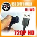 HD 720 P de Gran Angular de 3.6mm/1.8mm/lente 3.7mm/2.8mm Lente del CCTV DEL USB cámara usb mini cámara webcam de la PC