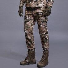 Зимние тактические камуфляжные мужские брюки из мягкой кожи акулы тактические военные ветронепроницаемая Водонепроницаемая теплая камуфляжные брюки для пейнтбола армейские флисовые брюки