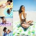 Индийский Круглый Мандала Гобелен Одеяло Открытый Пикник Пляж Полотенце Бросок Йо-ga Мат