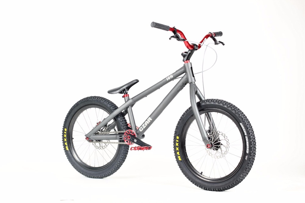 ECHO CZAR ION enfants 20 pouces vélo essai escalade vélo