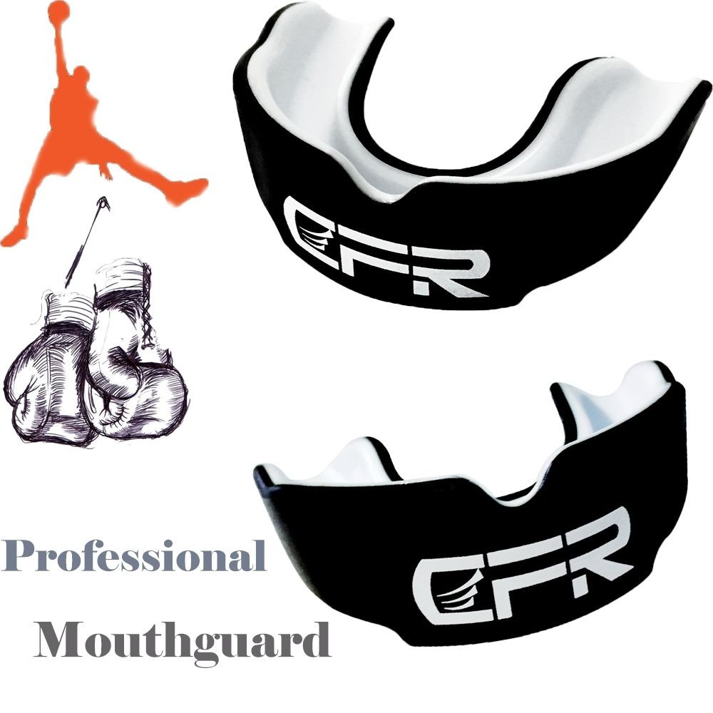 CFR Adult Mouth Guard and Oral Teeth Protector For Football/Basketball/ Karate 8