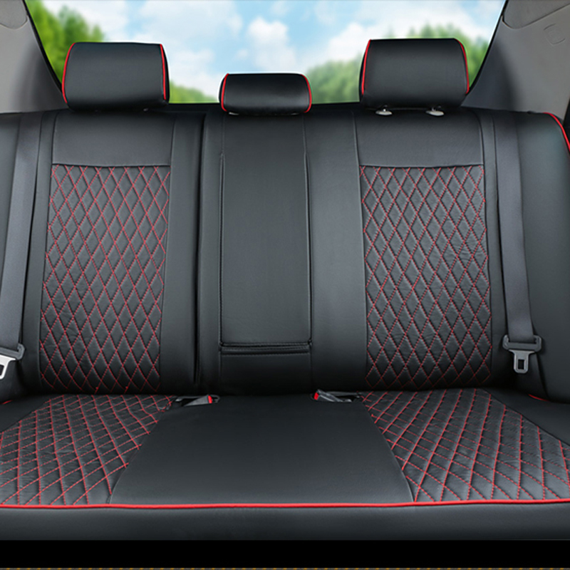 CARTAILOR Car Seat Cover PU Leather Car Seats For Toyota Corolla