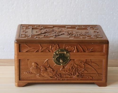 dongyang wood carving camphor wood jewelry box storage box small box camphor wood box mandarin. Black Bedroom Furniture Sets. Home Design Ideas