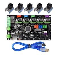 MKS Gen V1.4 3D Printer Control Board To TMC2130/TMC2208/DRV8825/A4988 Driver Reprap Mega 2560 R3 Ramps 1.4 1.5 1.6 Motherboard