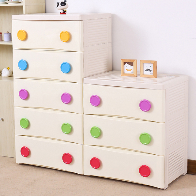 25a021603fae Product Jakarta thick drawer storage cabinets baby wardrobe color ...