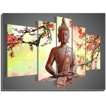New Buddha 3D diy diamond painting cross sttich Home Multi decoration square drill Needlework kits Rhinestone embroidery picture
