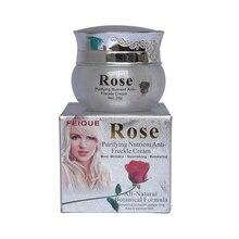 6 pcs/lot Rose whitening cream skin care anti freckle face
