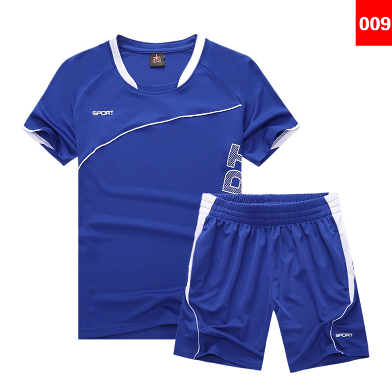 WXL 009 Childen kids team Football jersey Set Soccer Sports
