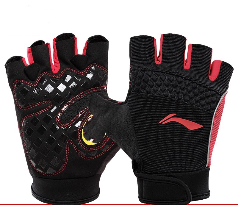 цена на Sports and fitness half-finger gloves protective palm bodybuilding training equipment skid