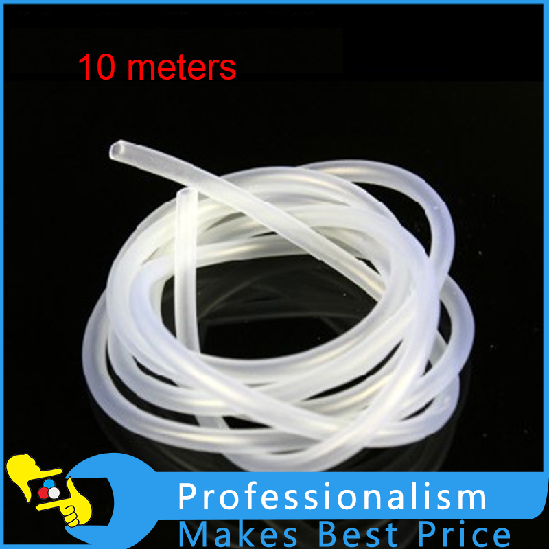 10M Air Line Aquarium Fish Tank Pond Oxygen Pump Silicone Hose Pipe Tube 4*6mm 250w aquarium seafood pond culture blower fish tank high power air pump oxygen machine