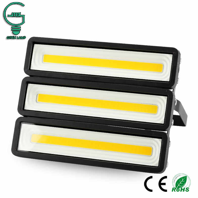 Outdoor 50W 100W 150W 200W LED Flood Light 220V 240V Waterproof Wall FloodLight Warm White Cold White LED Projector Spotlight