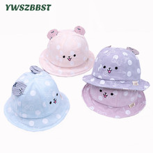 2019 New Fashion Baby Hats for Girls Spring Summer Kids Sun Hat With Rabbit Ear Boys Cap Bucket