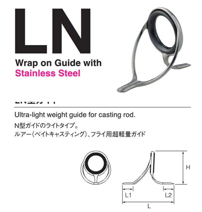 fujI LNAG12 Silver color Certified Goods spinning and