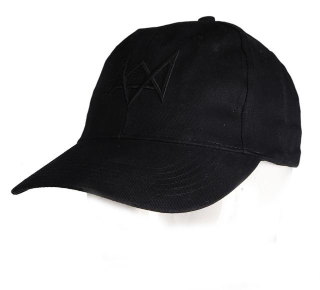 WATCH DOGS AIDEN PEARCE BLACK ADJUSTABLE CAP HAT CODPLAY ACCESSORY-36173 5d039ba6426