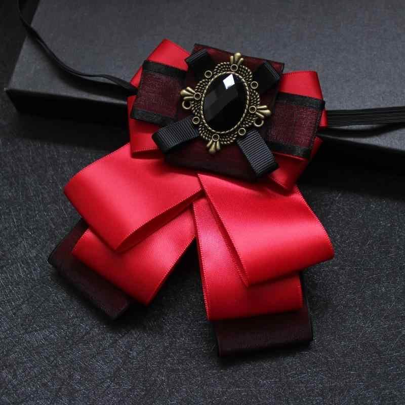 Meilleure vente original grande sélection Elegant Men Women Business Wedding Party Necktie Shirt Alloy ...