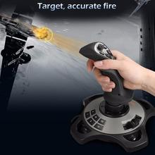 DSstyles Simulation Aircraft Joystick Game Controller Handle for PC, Mac