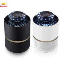 Oobest Photocatalyst LED UV Mosquito Killer Light Lamp Zapper Flies Killer Mosquito Repellent Catcher Electronic Pest