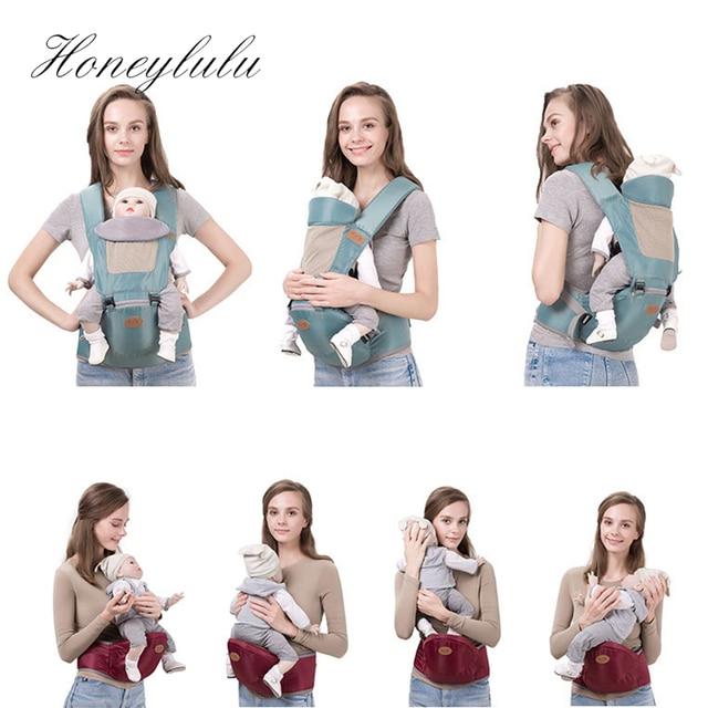 Honeylulu Baby Carrier Sling For Newborns Breathable Kangaroo For Baby Head Protection Ergoryukzak Baby Backpack Hipsit Sling | Happy Baby Mama