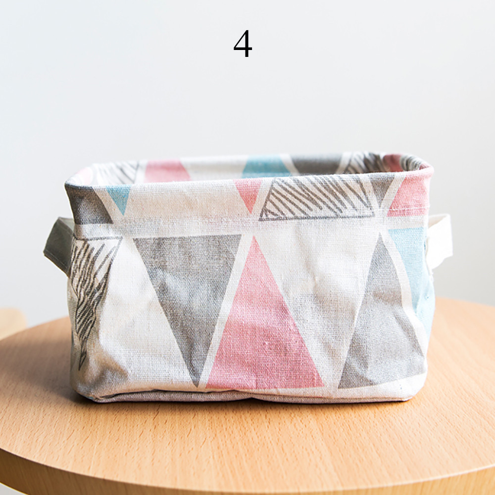 2019 Foldable 5 Colors Storage Bin Closet Toy Box Container Organizer Fabric Basket 3.5