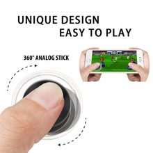 Mobile Game Joystick Julyfox Mini Phone Game Controller Rocker Touch Screen Joystick Tablet For iPhone Android Phone iPad Tablet