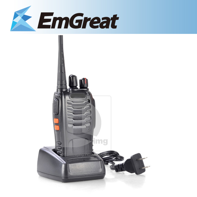 Portable BAOFENG BF-888S UHF 400-470MHz Handheld Two Way Radio 16CH Walkie Talkie with Torch Light 014668 Free shipping
