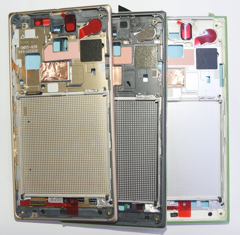 for Microsoft Nokia Lumia 830 Middle Frame Housing Front Cover LCD Frame A Cover Bezel Plate