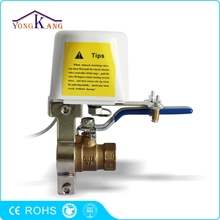 "DC9V-DC12V Electric Manipulator 3/4"" Ball Valve for Alarms Shutoff Gas/Water Pipeline"