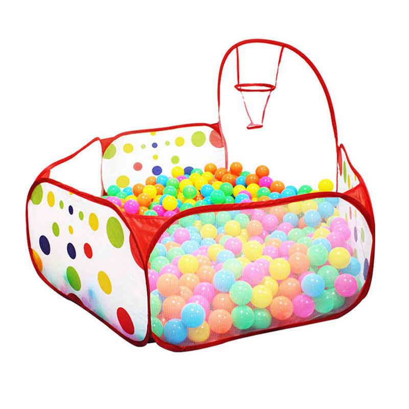 Colchoneta portátil para niños, pelota, piscina, juego, carpa para bebé, interior y exterior, tienda de juguetes 90*90*30cm