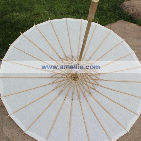 20 개/몫 무료 배송 파티 웨딩 신부 백서 파라솔-에서우산부터 홈 & 가든 의  그룹 3