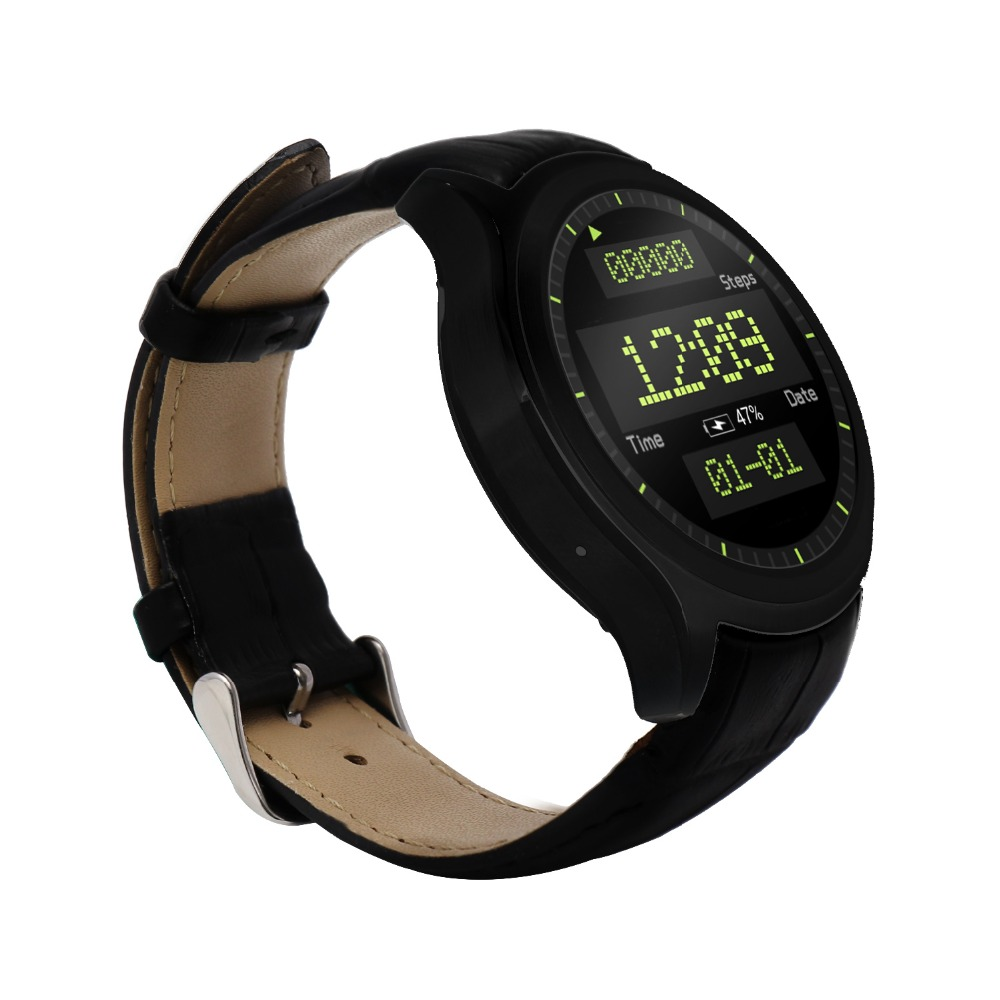 FDUCE WIFI Smart Watch D5 Android IOS 1G/8G Heart Rate monitor Pedometer for huawei apple samsung gear 2 s2 s3 moto 360 Gift