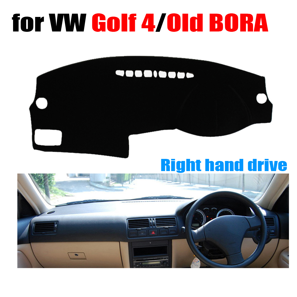 Car dashboard covers mat Right hand drive dashmat pad for Volkswagen VW GOLF 4 1997-2003 / Old BORA 2006 years