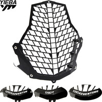 FOR KTM Motorcycle Headlight Protector Guard Lense Cover grill for KTM 1190 Adventure/1190R 1290 Super Adventure 2015 2016 2017