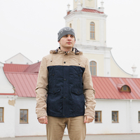 2016 New Windproof Men Jackets And Coats Veste Homme Parka Men Military High Quality Patchwork Soft