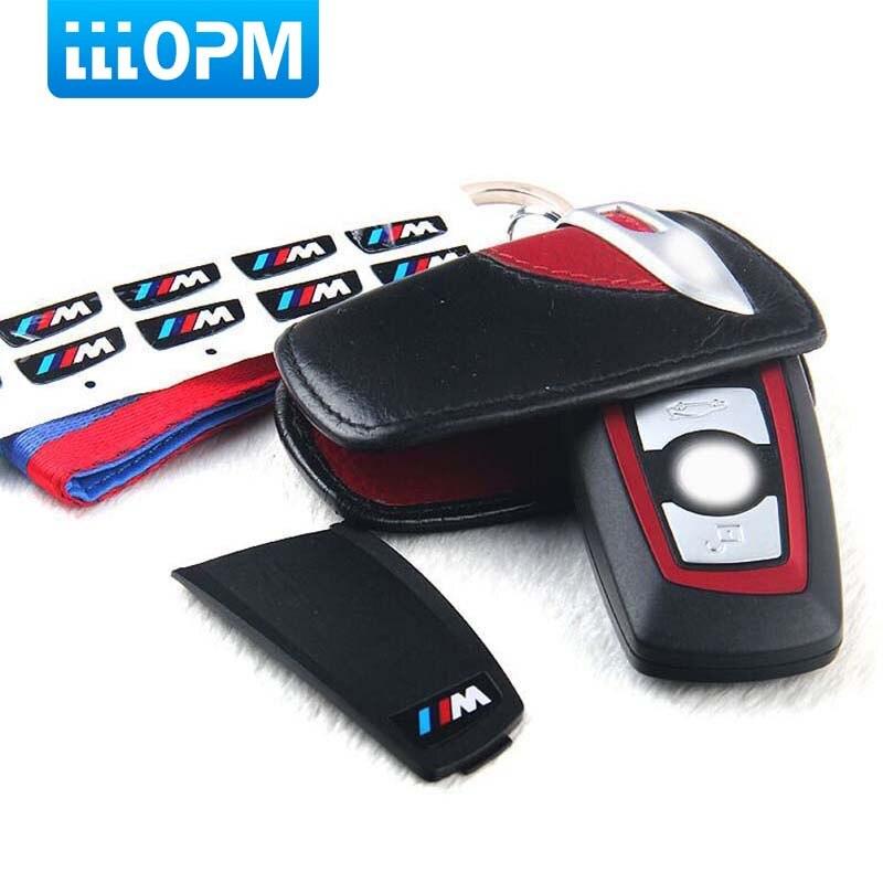 2 PCS Motorsport M Performance Styling Key Trim 3D Car Sticker M Emblem Logo For BMW X1 X 3 X5 X6 M3 M5 325i 328 F30 F35 Series motorsport manager [pc jewel]