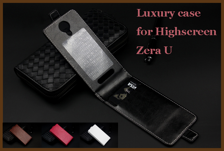 Cellphones & Telecommunications Flip Leather Case For Highscreen Zera U Fundas Printed Flower 100% Special Wallet Stand Case With Strap