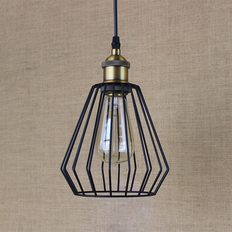 Illuminating Kitchen Lighting: Hardware Lighting Lights Loft Retro Black Industrial Metal