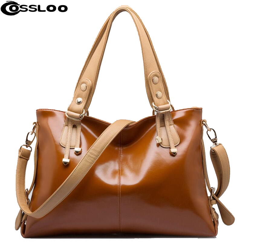 COSSLOO New Arrival Women Messenger Bag patchwork Top Handbag Ladies inclined shoulder woman bags handbags women famous brands 2017 boston women messenger bags inclined shoulder ladies hand bag women leather handbag woman bags handbags women famous brands