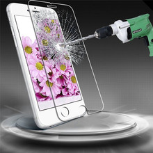New Premium Real Tempered Glass Screen Protector for Apple 5 5 iPhone 6S Plus Free shipping