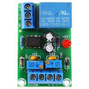 Image 1 - 12vバッテリー自動充電コントローラモジュール保護ボードリレーボードモジュール抗転置スマート充電器ホット販売