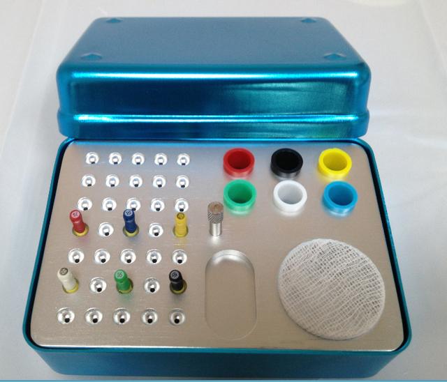 Guta percha Dental Bur Titular Para O canal Da Raiz do arquivo raiz desinfecção caixa de tomada Titular Bur caixa de esterilização caixa de material odontológico