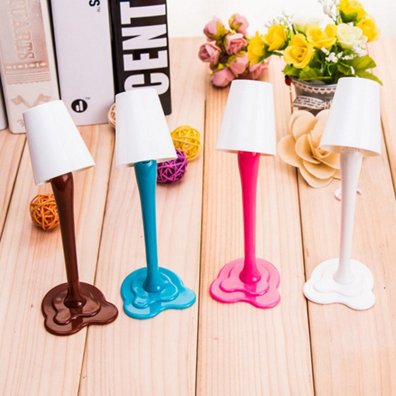 Pens, Pencils & Writing Supplies Ballpoint Pens 1pc Desk Lamp Pen 0.5 Mm Novelty Kawaii Table Lamp Ballpoint Pen Replaceable Ink Kids School Stationery Random Color With The Best Service