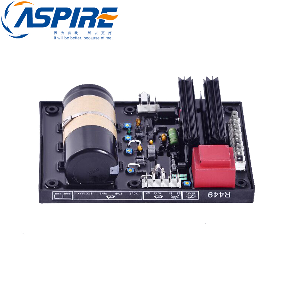 New Free Shipping+ Generator AVR R449 Generator Parts Automatic Voltage Regulator automatic avr r449 voltage regulator for cummins 900 kva generator