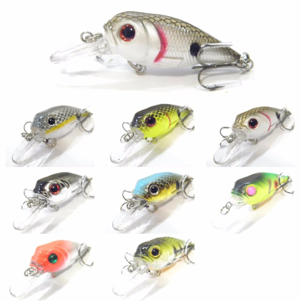 wLure Fishing Lure Hard Bait Tight Wobble Sinking Jerkbait 5.7cm 8# Black Nickel Hooks Tiny Minnow Crankbait C548 wldslure 1pc 54g minnow sea fishing crankbait bass hard bait tuna lures wobbler trolling lure treble hook