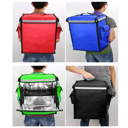 58/42L Large Waterproof Takeaway Backpack Insulation Package Pizza Delivery Bag Coffee Carrier Removable Matte Hardboard Divider